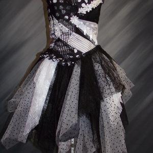 NEW - Black and White dress